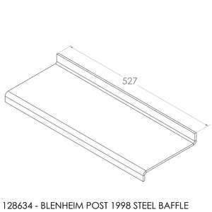 Fisher Blenheim (Post 98) Baffle (527x197x6mm)