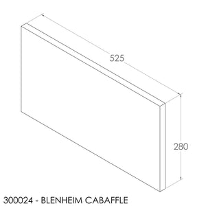 Fisher Blenheim C/A Baffle - Ceramic (525x280x20mm)