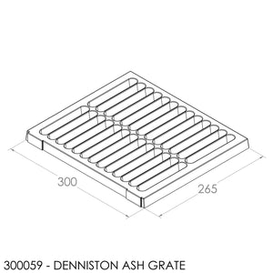Fisher Charleston/Denniston Grate - Cast Iron (305x268x15mm)