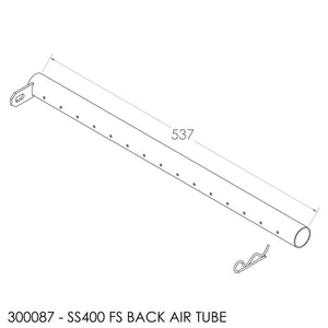 Jayline Spitfire/SS400 (2010) Air Tube - Rear (537mm)