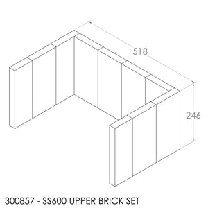 Jayline SS600/FR400 Brick Set (Upper)