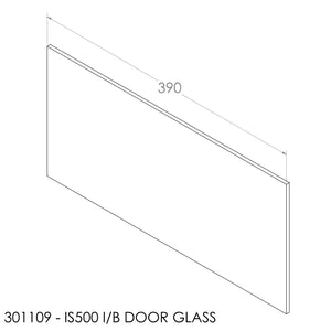JAYLINE STARFIRE IB & IS500 DOOR GLASS WITH GLASS SEAL