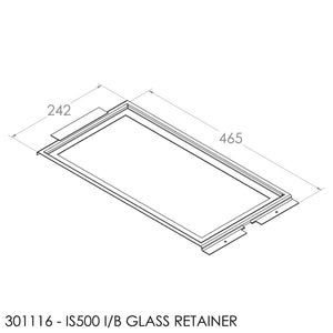 JAYLINE IS500 GLASS RETAINER - STD