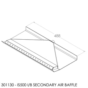 JAYLINE IS500 SECONDARY AIR BAFFLE