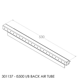 JAYLINE IS500 REAR AIR TUBE WITH LOCATOR PINS