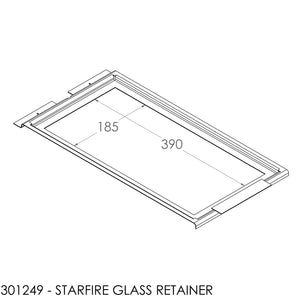JAYLINE STARFIRE IB GLASS RETAINER (2092)