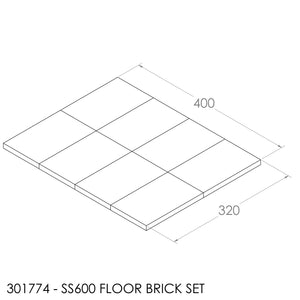 Jayline SS600 Brick Set (Lower)
