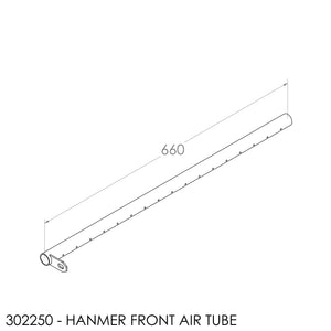 Fisher Hanmer Air Tube - Front