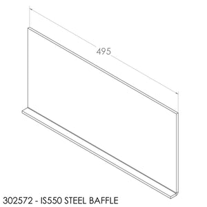 Jayline IS550 Baffle - Steel (495x244mm)