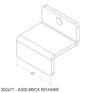 Jayline/Fisher (2014) Brick Retainer & Fastener