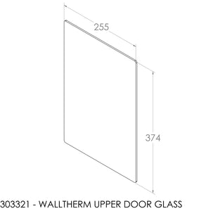 Jayline Walltherm Air Door Glass - Upper Door