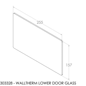 Jayline Walltherm Air Door Glass - Lower Door