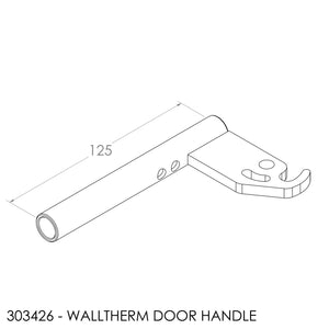 Jayline Walltherm Door Lever Lock Inc Fasteners