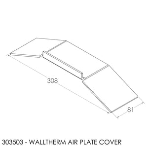 JAYLINE WALLTHERM SS PRIMARY & SECONDARY AIR COVER PLATE