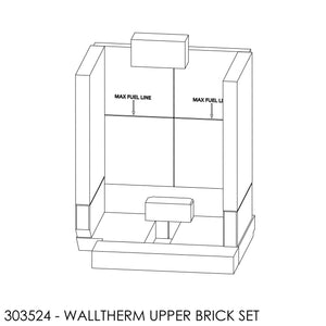 (BOM) Jayline Walltherm Air Brick Set - Upper Chamber