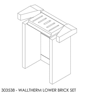 (BOM) Jayline Walltherm Air Brick Set - Lower Chamber