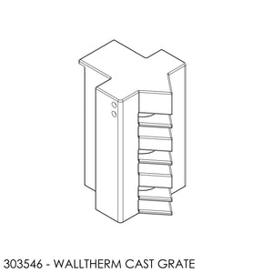 Jayline Walltherm Grate Cast Centre
