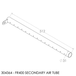 Jayline FR400 Air Tube