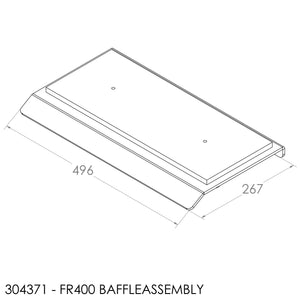 Jayline FR400 Baffle (Assembly)