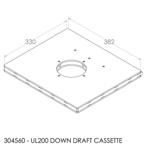 Jayline UL200 Down Draft Cassette