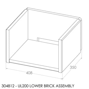 (BOM) Jayline UL200 - Lower Chamber Brick Set