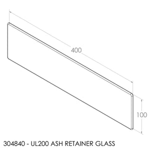 Jayline UL200 Ash Retainer Glass (Not IR Max)