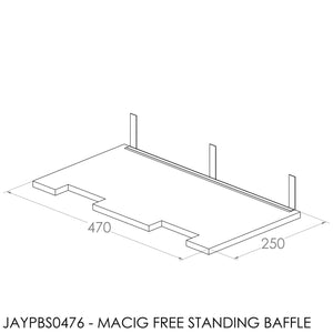 JAYLINE PROMATIC MAXIMISER 12mm (INC SUPPORT CHANNEL)