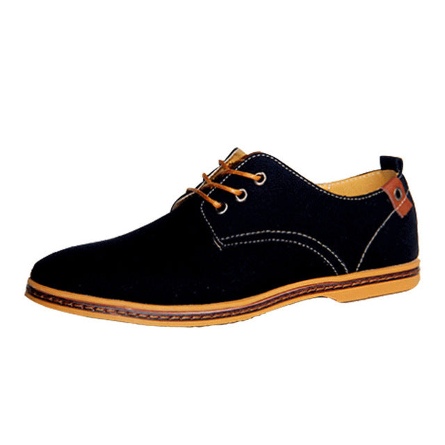 Mens Retro Business Or Casual Colorful Flat Shoes / Various Colors
