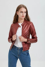Load image into Gallery viewer, Women's Motorcycle Jacket