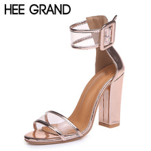 Load image into Gallery viewer, Womens Sexy Gladiator High Heel Open Toe Pumps