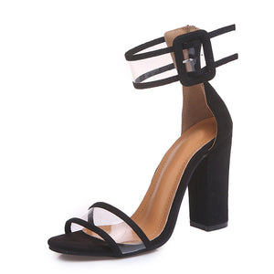 Womens Sexy Gladiator High Heel Open Toe Pumps