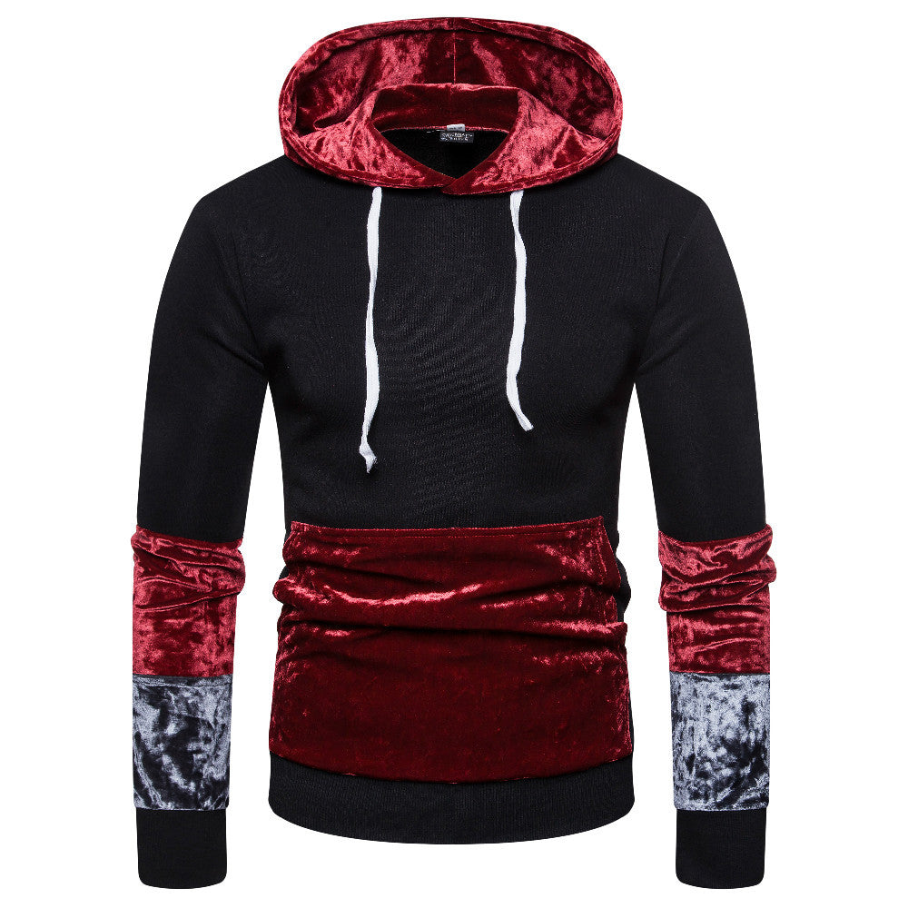 Mens Urban Fashion Casual Design Street Style Hoodie In 3 Colors