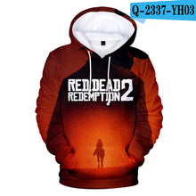 Load image into Gallery viewer, Red Dead Redemption 2 Exclusive Anime Unisex Hoodie