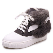 Load image into Gallery viewer, Women's Faux Fur Snow Boots