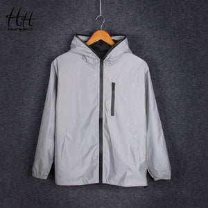 Mens 3D Reflective Jacket