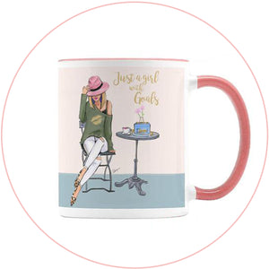 fashion illustration mugs wholesale