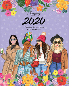 2020 Fashion Illustrated Calendar