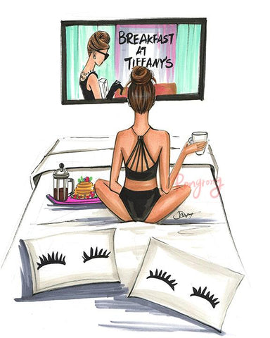 Breakfast at Tiffany's Art Print