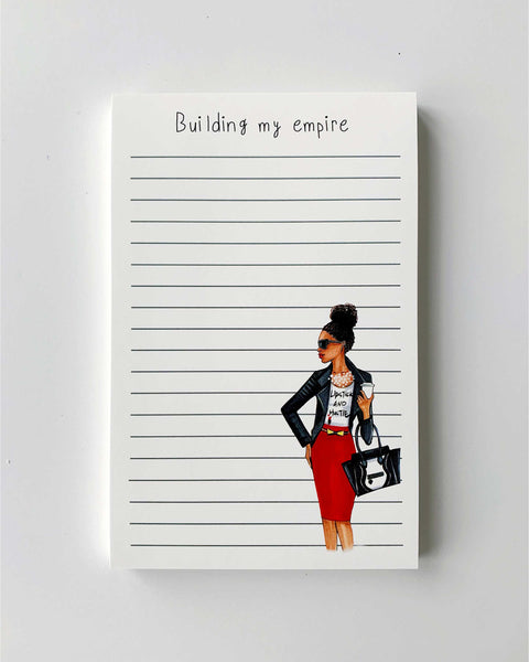 Building My Empire Notepad - Dark - Two Pack