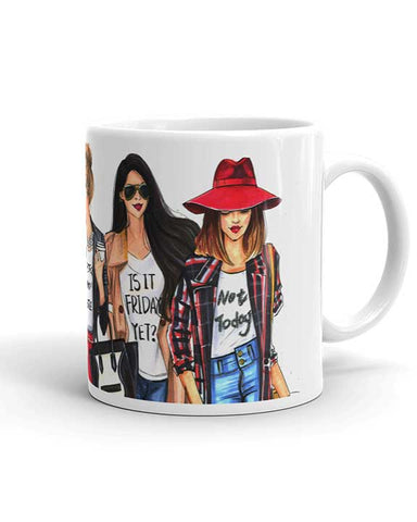 Coffee Fashionistas Mug - Two Pack