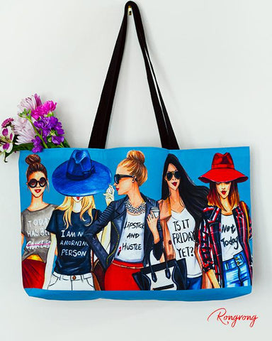 Coffee Fashionistas Weekend Tote