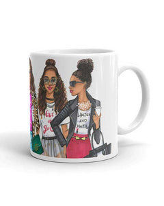 Fashion Divas Mug- Two Pack