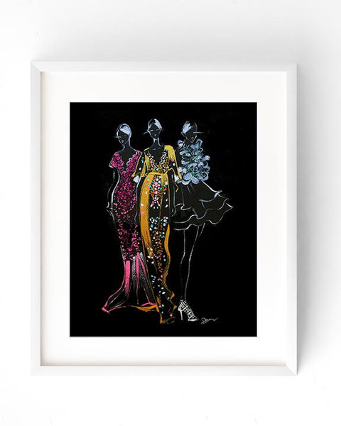 Marchesa Ladies Art Print
