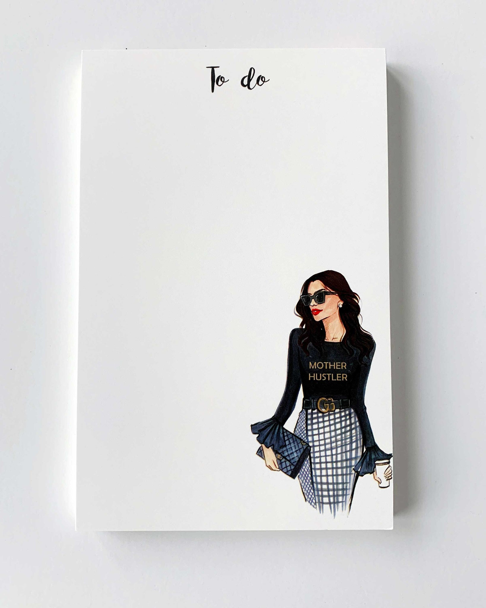 Mother Hustler Notepad - Brunette - Two Pack