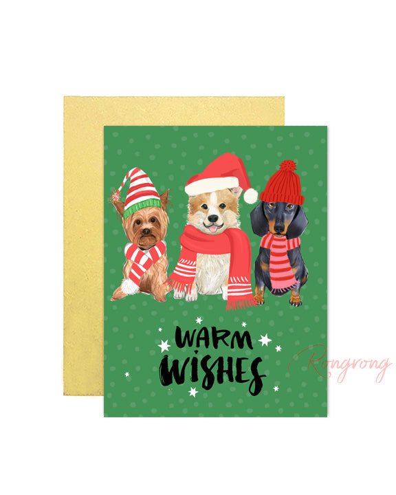 Warm Wishes Greeting Card - Two Pack