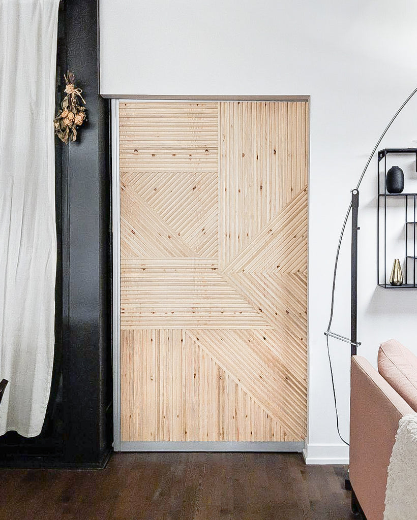 NATURAL WOOD DOOR