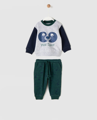 Wild Spirit Baby Boy Sport Set