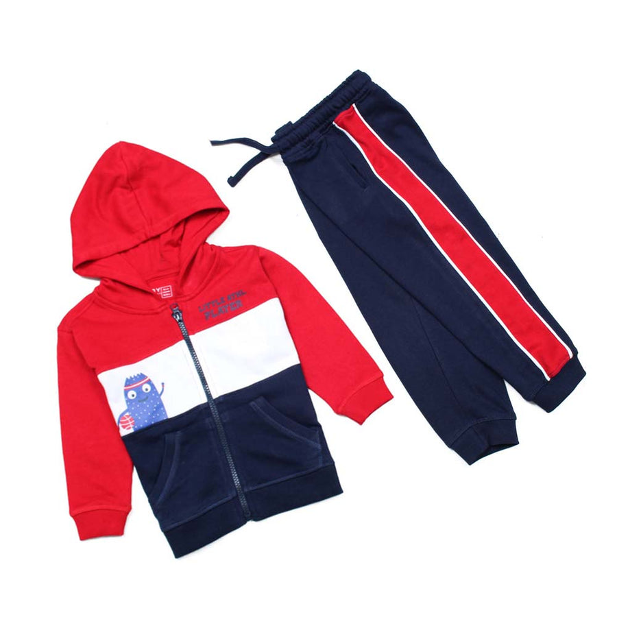 BOYS SUPERIOR QUALITY LITTLE ATHL PLAYERS TRACK SUITE