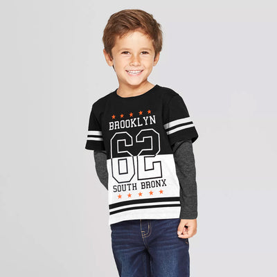 George Kids Full Sleeves T-shirt Designed for Summer Season - Big Brands | Small Prices | Exportbrands.pk