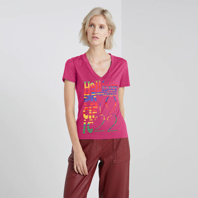 HOLLISTER ORIGINAL WOMEN V-NECK SHIRT - Big Brands | Small Prices | Exportbrands.pk